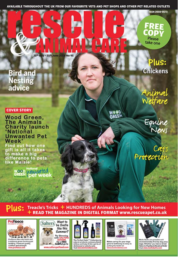 Rescue and Animal Care Magazine Cover